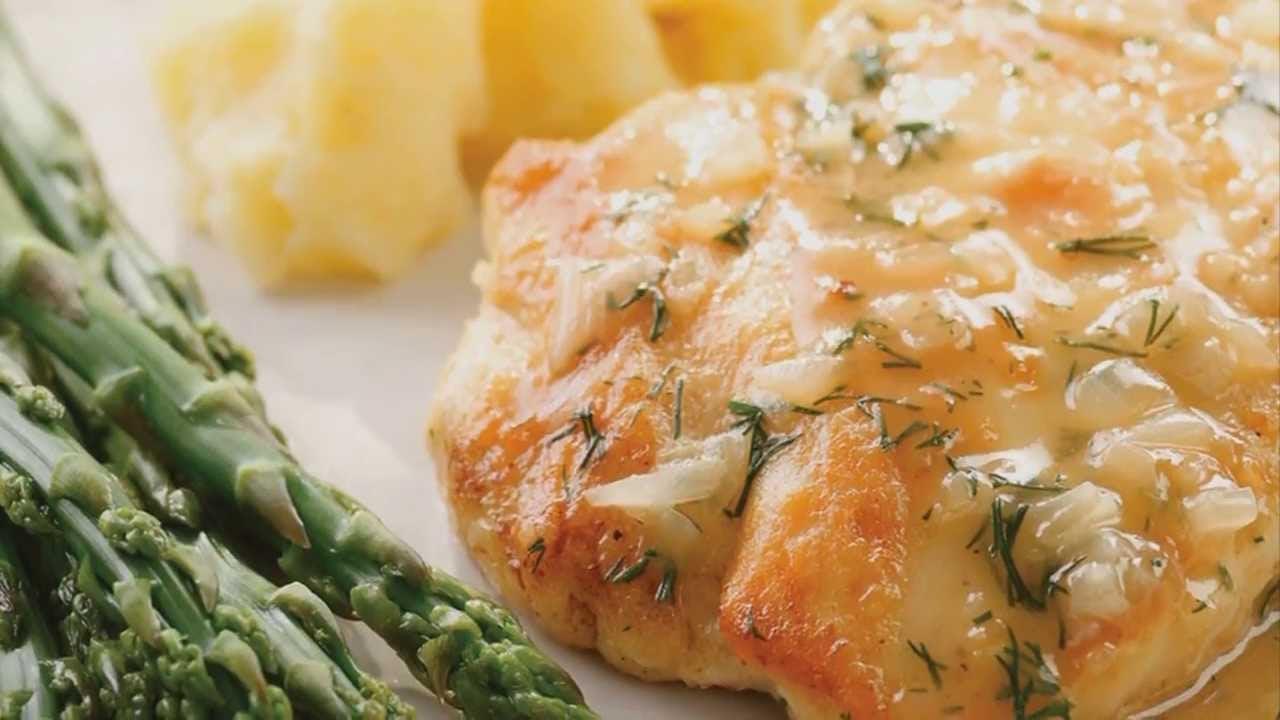 Healthy Dinner: Lemon and Dill Chicken Recipe