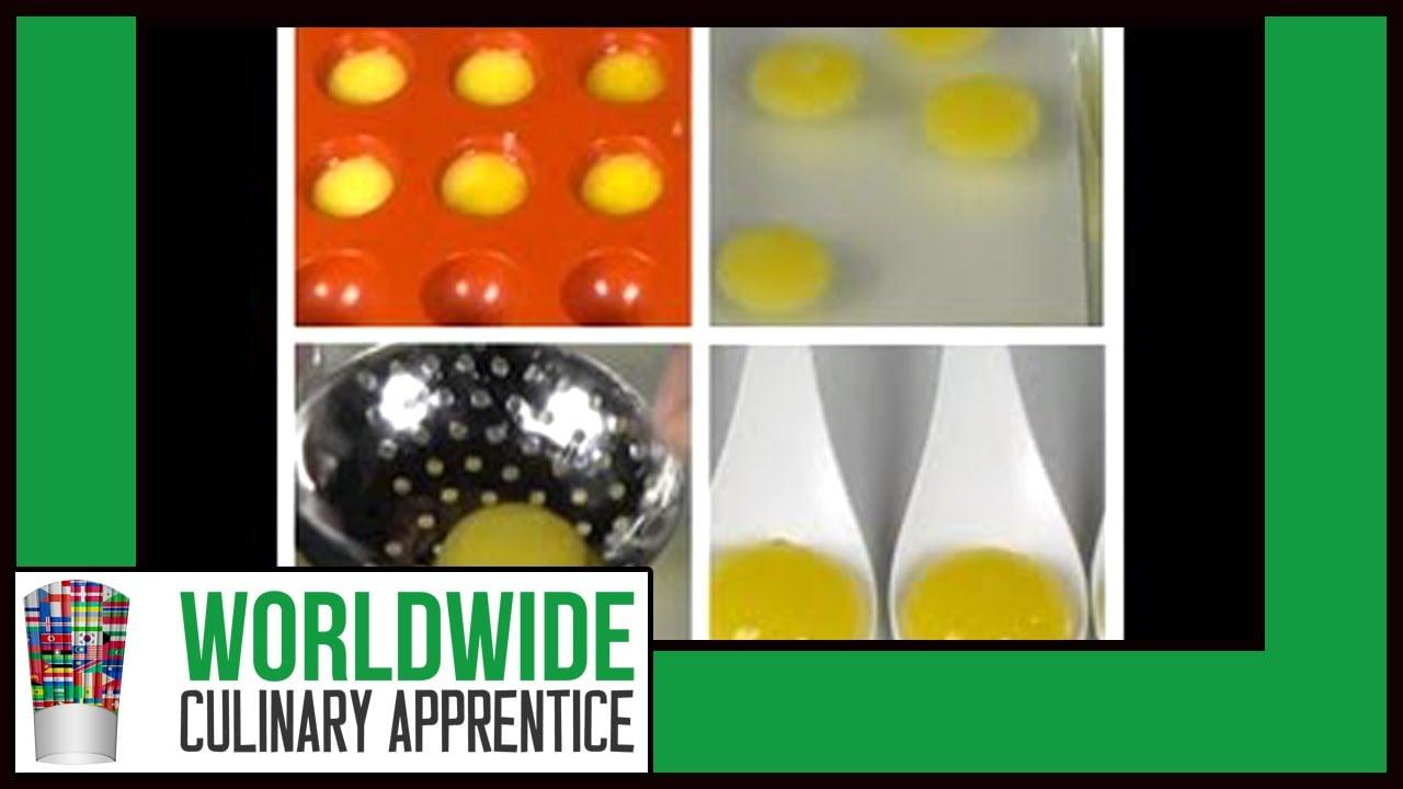 How to make orange juice liquid raviolis how to make for Cuisine moleculaire