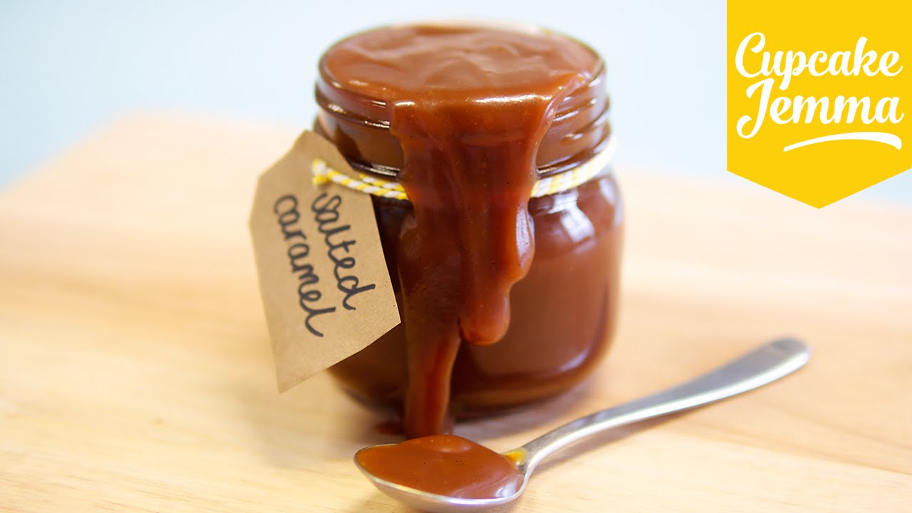 Quick & Easy Sea Salted Caramel Recipe | Cupcake Jemma