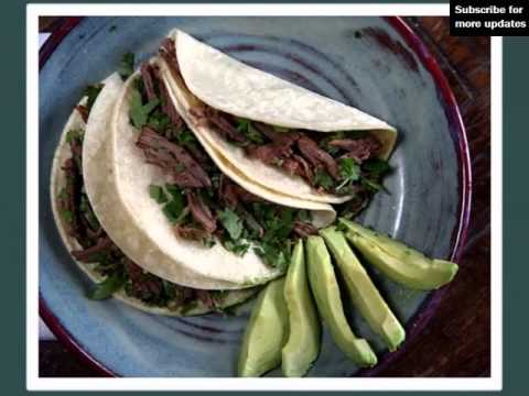 Tacos & Brisket | Plate Of Food Stock Photo Collection Ideas
