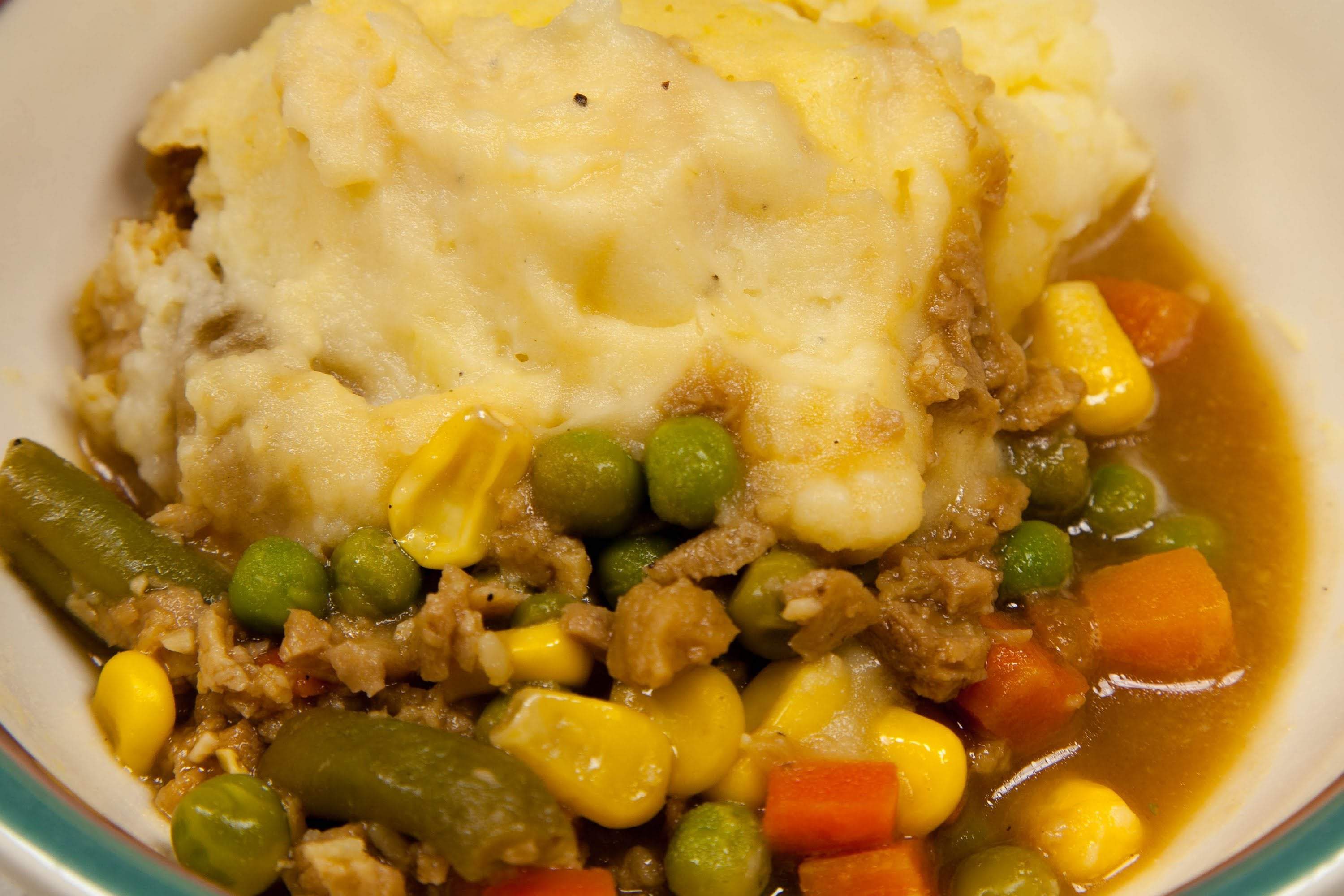 Vegetarian Shepherds Pie (Lower salt)
