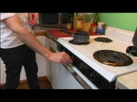 Chicken Cacciatore Recipe : Pre-Heating the Oven for Chicken Cacciatore