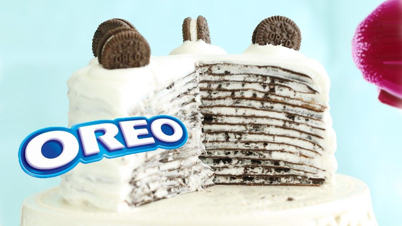 Oreo Mille Crepe Cake 오레오크레이프케이크 Mille Crepes