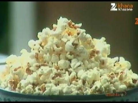 Popcorn – Sanjeev Kapoor – Khana Khazana