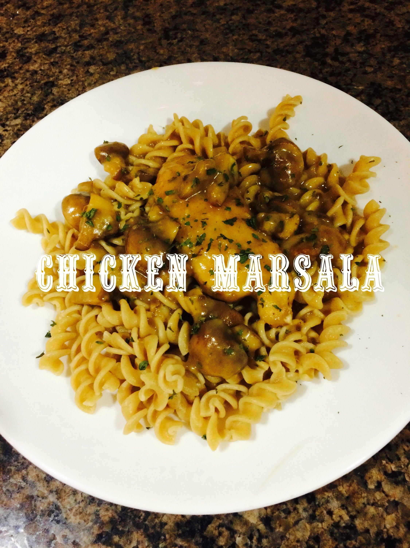 Recipe: Homemade Chicken Marsala