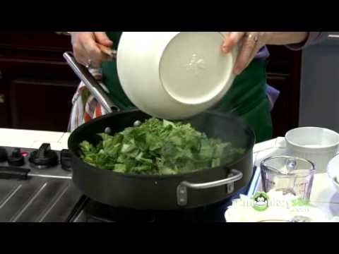 Vegetarian Recipes for Easter: Peter Rabbit Pie (Greens and Quinoa Pie)