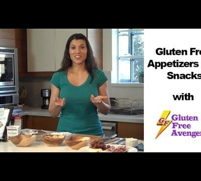 Gluten Free Appetizers and Snacks