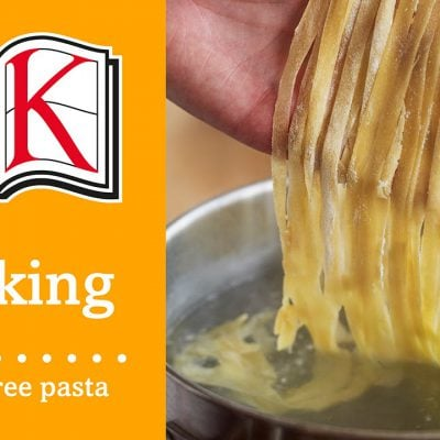 Gluten Free Recipes: Homemade Pasta