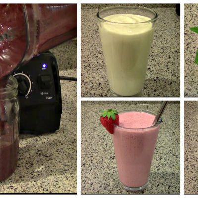 5 Smoothie Recipes with a Vitamix