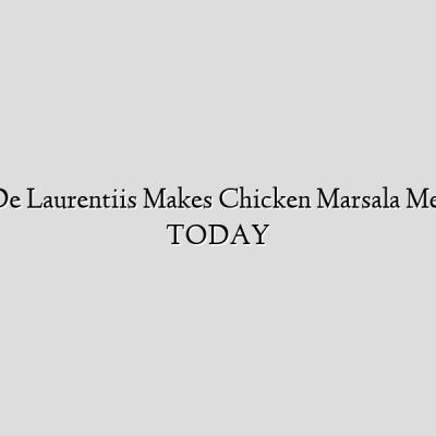 Giada De Laurentiis Makes Chicken Marsala Meatballs | TODAY