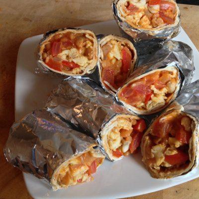 All Day Breakfast Vegetarian Burritos Recipe – MYVIRGINKITCHEN