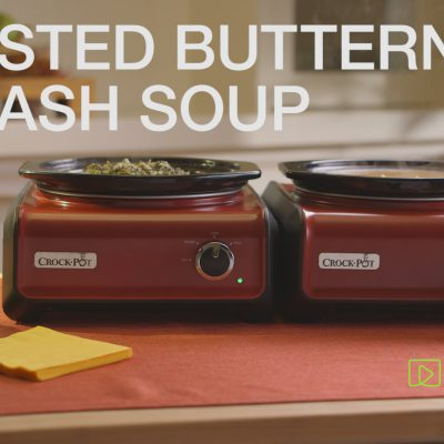 Amazon Kitchen Shorts: Crock-pot Appetizers – Roasted Butternut Squash Soup