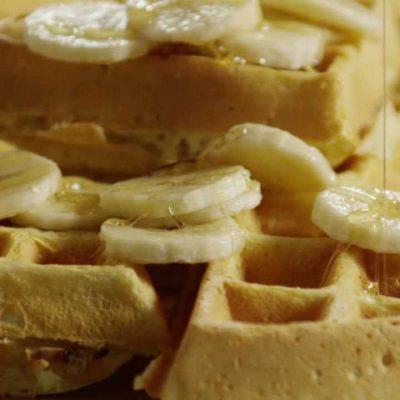 Banana Waffles Recipe – How to Make Banana Waffles