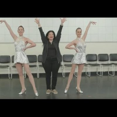 Chef Alex Guarnaschelli joins the Rockettes