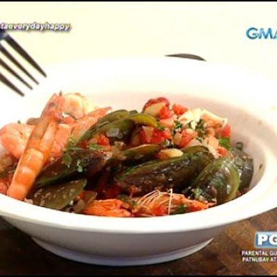 Chef Boy dish: Seafood Marinara