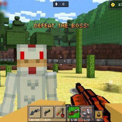 CHICKEN TENDERS :D   Pixel Gun 3D Campaign #3