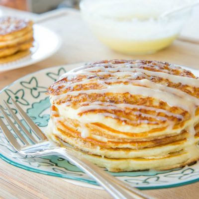 CINNAMON ROLL PANCAKES RECIPE – Breakfast and Brunch Food
