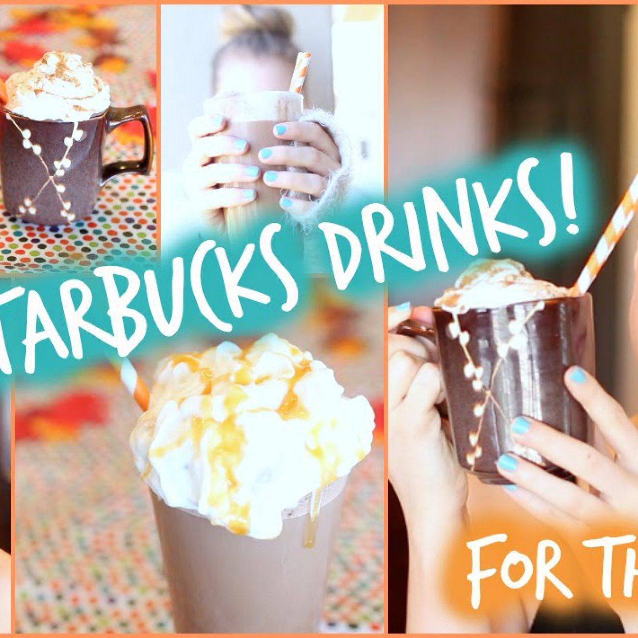 DIY Fall Starbucks Drinks: Pumpkin Spice & Salted Caramel!🍂 | Aspyn Ovard