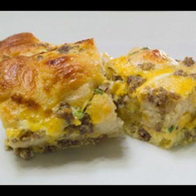 Easy Breakfast Biscuit Bake