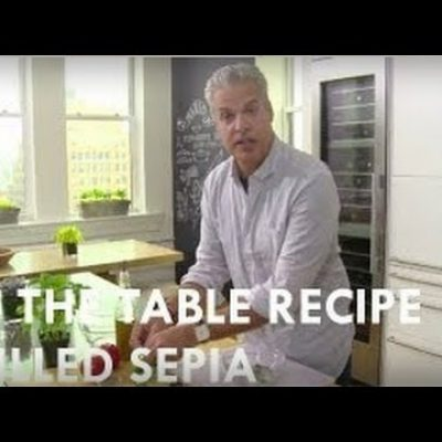 Eric Ripert's Grilled Sepia, Tomato, & Basil Pesto | Reserve Channel Recipes| Reserve Channel