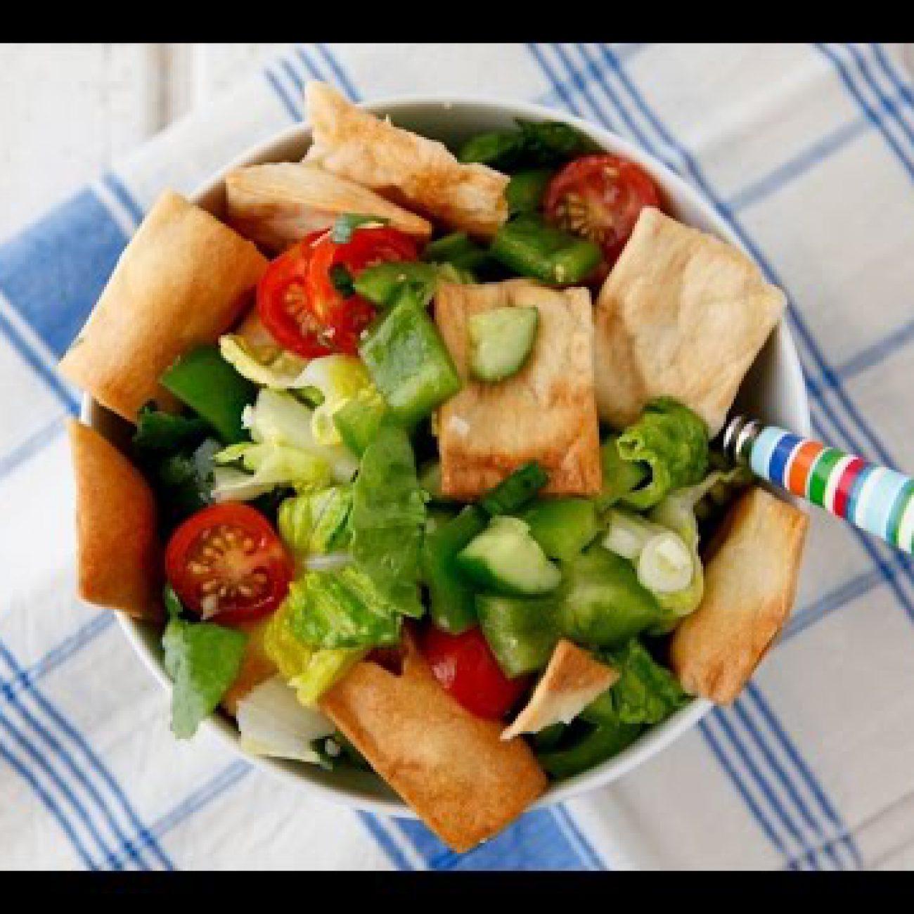 Fattoush Salad – Healthy Side Dish Recipes – Weelicious