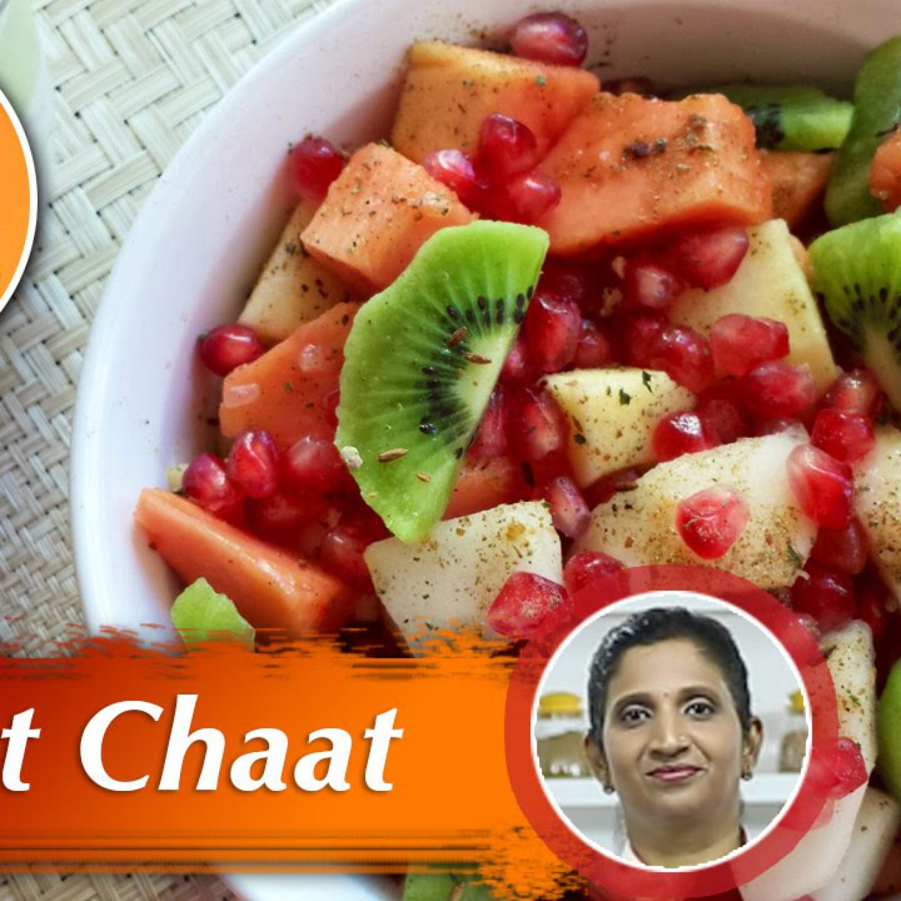 Fruit Chaat | Salad Recipes | Chef Priya | Salad Special