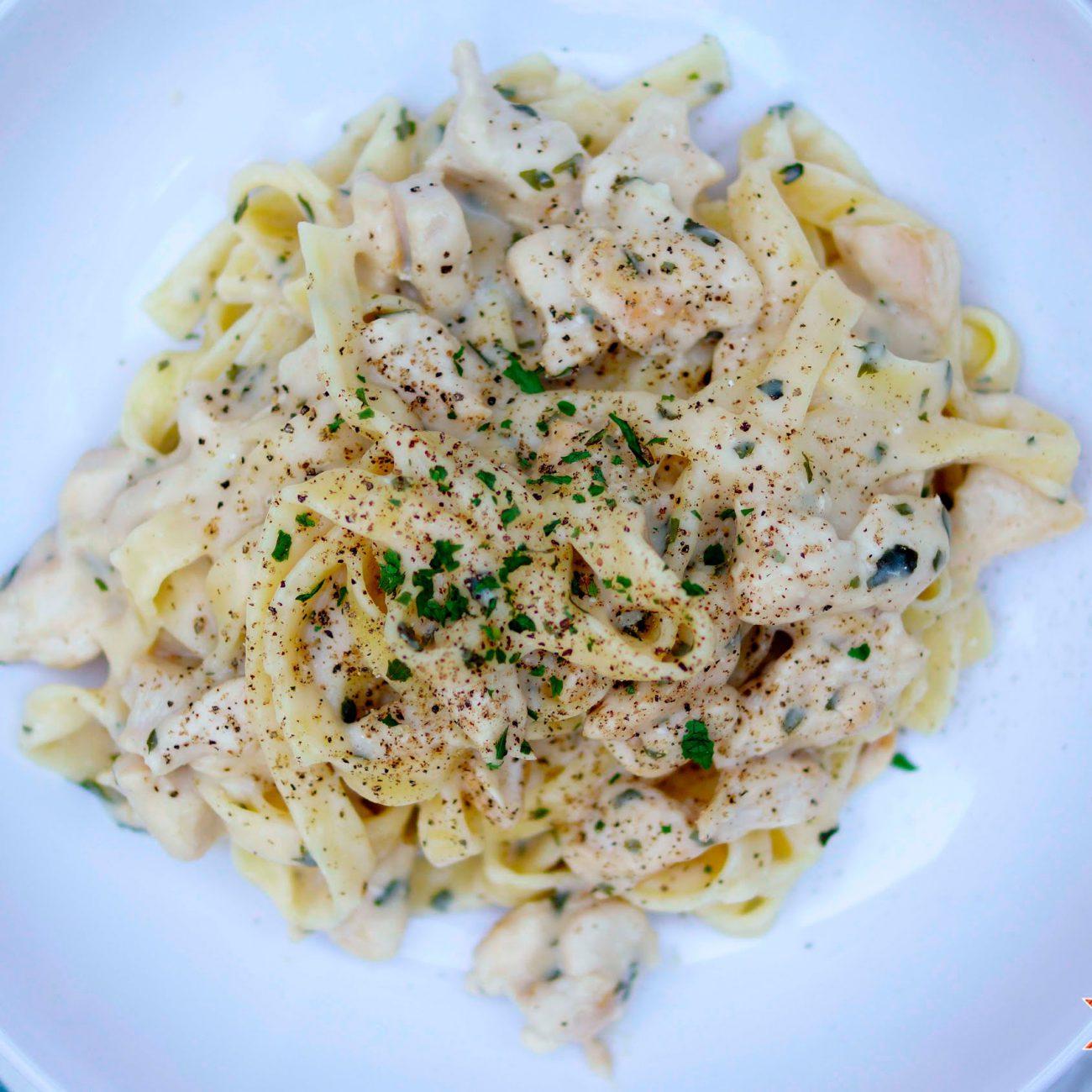 Healthy Chicken Pasta Alfredo Recipe