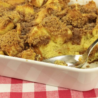 How to Make Baked French Toast (Bread Pudding)!