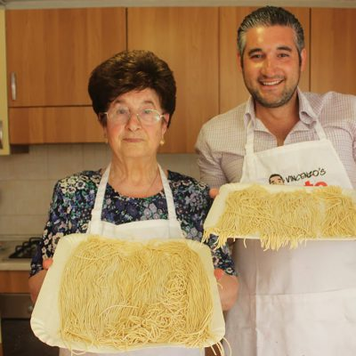 How to Make Fresh Pasta From Scratch made by Nonna Igea