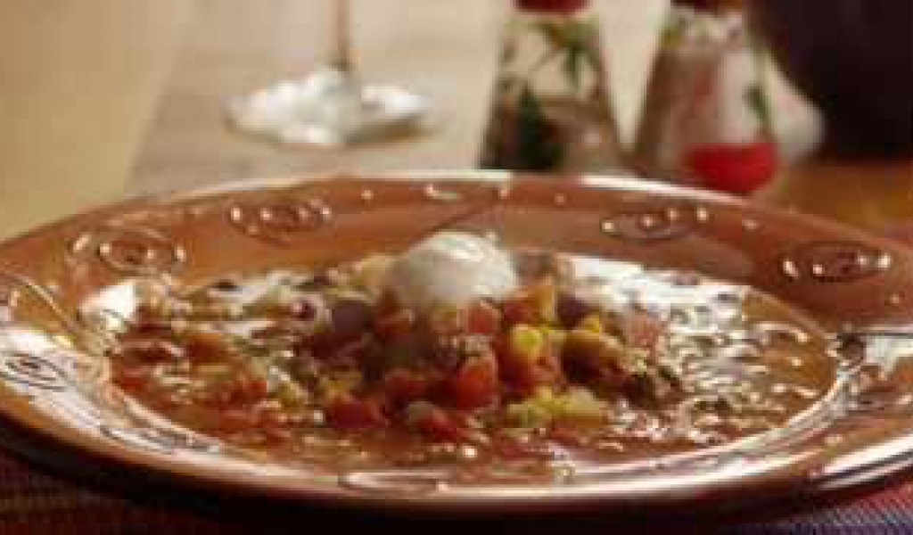 How to Make Slow Cooker Taco Soup - Recipe Flow