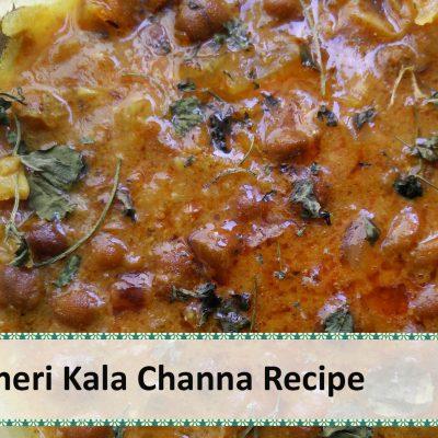 Jaisalmeri Kala Channa | Black Chickpeas Curry by Healthy Kadai