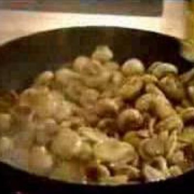 Marinated Mushrooms (Antipasto 2/3)