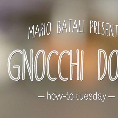 Mario Batali's How-To Tuesday: Gnocchi Dough