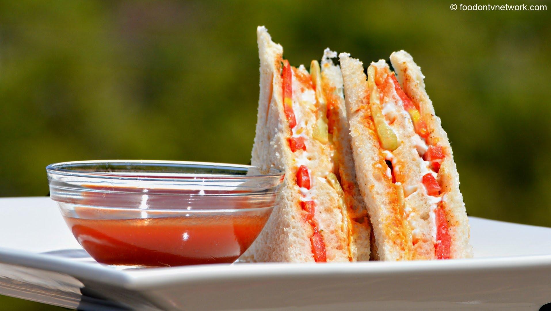 Mayonnaise Veg Sandwich Recipe How To Make Mayo Sandwich Recipe By Nikunj Vasoya Recipe Flow