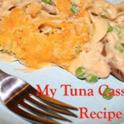 My Tuna Casserole Recipe | From Scratch