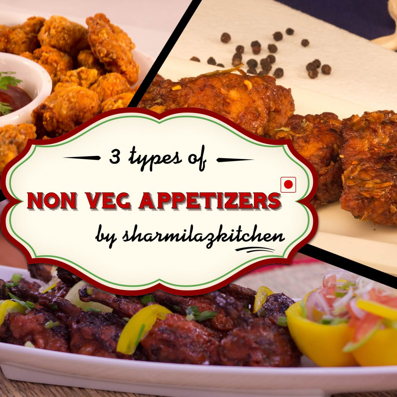 Non-Veg Party Appetizers / Starters Recipe By Sharmilazkitchen | Easy To Make Recipes