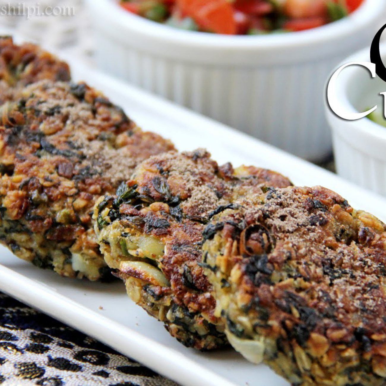 Oats Cutlets Recipe or Oats Tikki Recipe   Indian Vegetarian Snacks & Appetizer Recipes By Shilpi