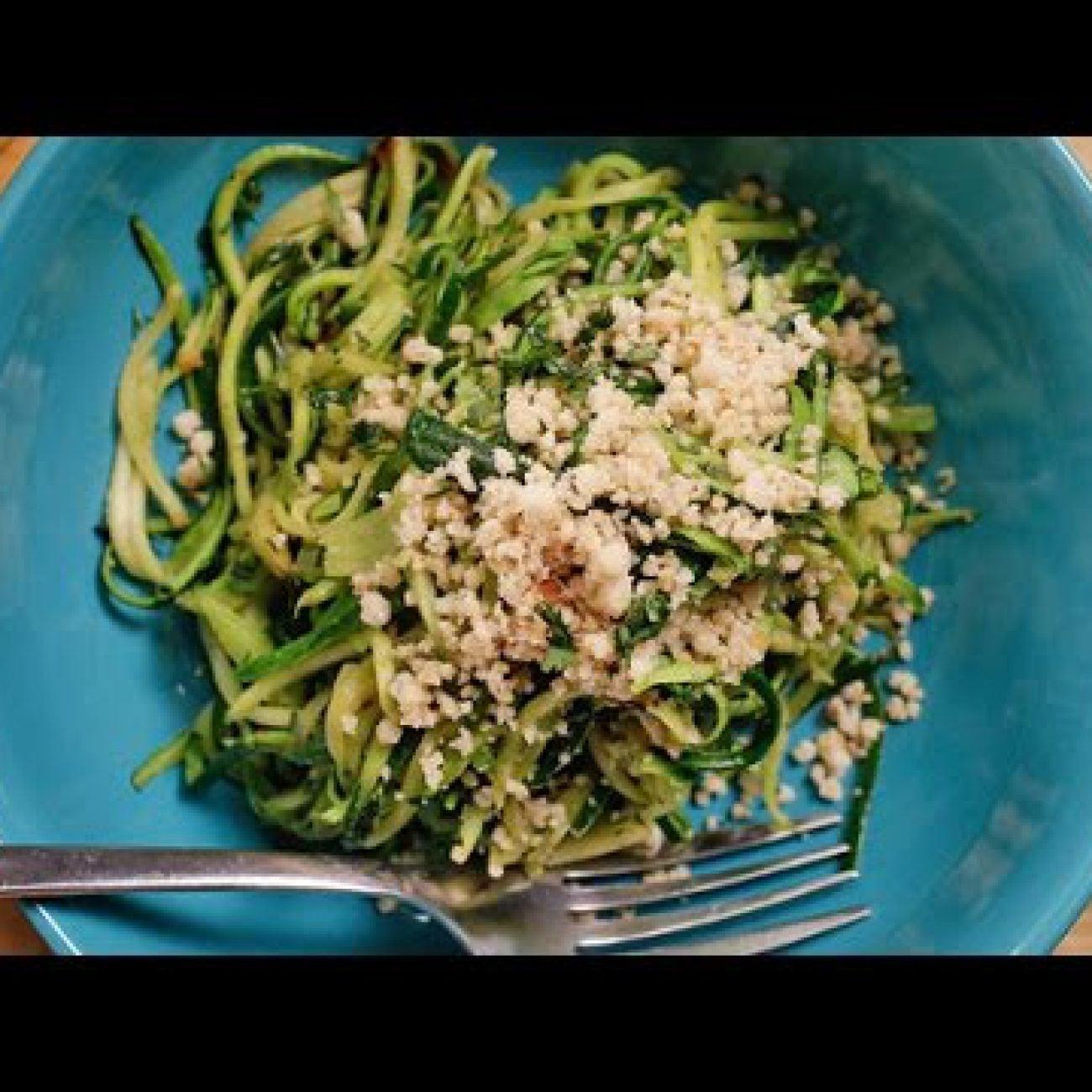 "Paleo Zucchini ""Pasta"" Recipe | Get the Dish"