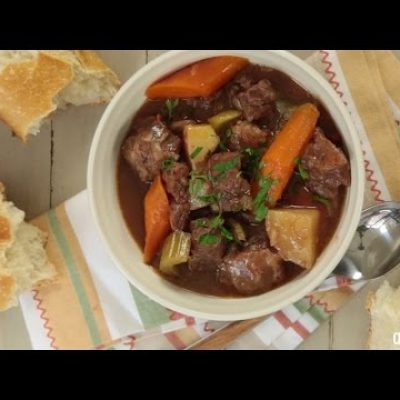 Slow Cooker Recipes – How to Make Slow Cooker Beef Stew