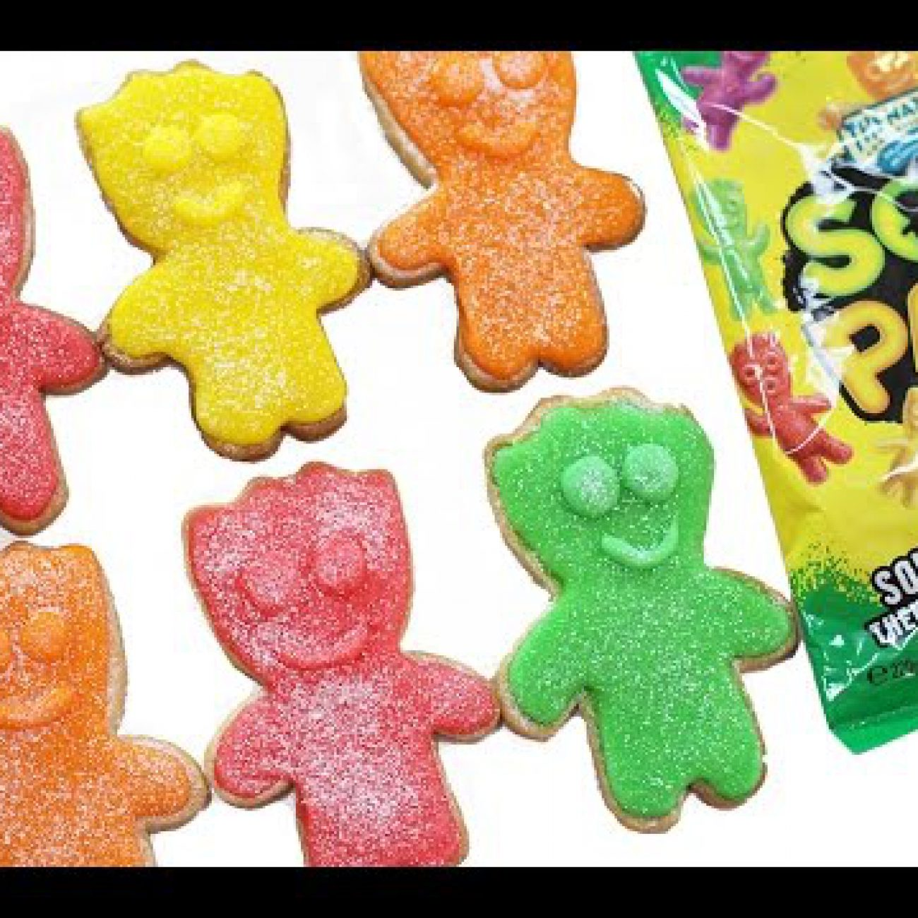 Sour Patch Cookies – Super Sour Candy Cookie Recipe | My Cupcake Addiction