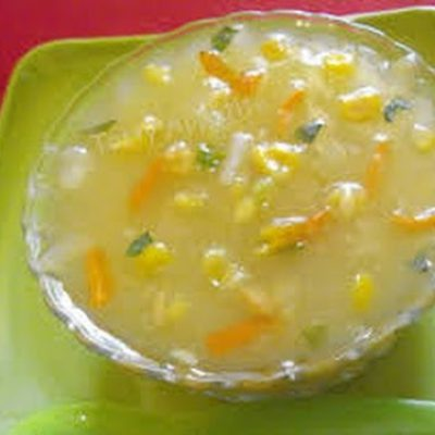 Sweet Corn Chicken Soup – Milind Sovani – High On Food