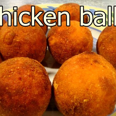 TASTY CHICKEN BALLS – Easy food recipes for dinner to make at home – Cooking videos