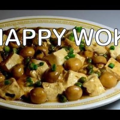 Tofu and Mushrooms in Oyster Sauce : Authentic Chinese Stir Fry Cooking .