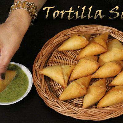 Tortilla Samosa Recipe | No Dough Samosa Recipe | Veg Snacks Starter & Appetizers for Parties Shilpi