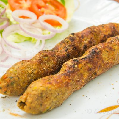 Veg Seekh Kababs Recipe | Vegetarian Tandoori Recipes at Home