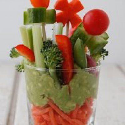 Veggie Garden Cups – Healthy Snacks for Kids – Weelicious