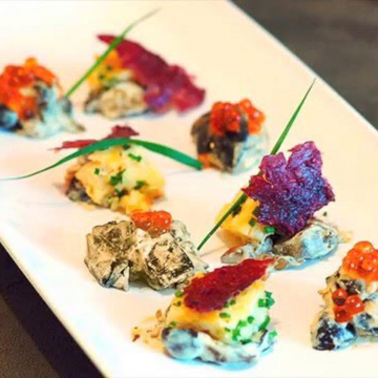 Viennese MUSHROOMS IN CREAM Appetizer / restaurant recipe / Michelin star